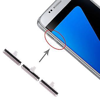 Für Samsung Galaxy S7 Sidekeys Seitentasten Gold Ersatzteil Zubehör Reparatur