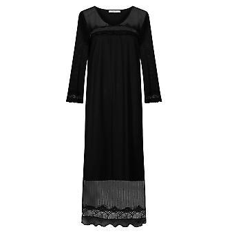 フェロー 3201037-10995 ウィメンズ&アポス;s クチュール ブラック ラウンジウェア ナイトドレス