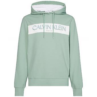 Calvin Klein Bio Baumwolle Streifen Logo Hoodie