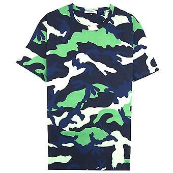 Valentino Camouflage T-shirt Green Camo