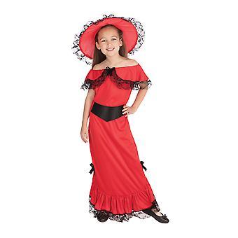 Costume scarlatto OHara di Bristol Novelty Girls