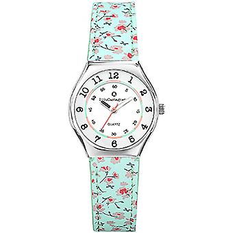 Watch LuluCastagnette MiniStar 38826 - floral leather