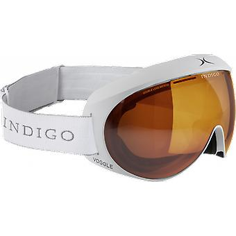 Indigo SKI mask OTG Voggle White Photochromic