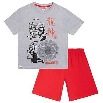 Lego Ninjago Boys Pyjama courts rouges