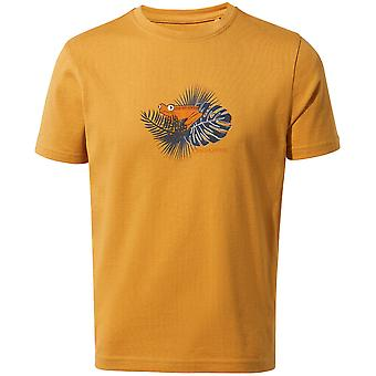 Craghoppers Jungen Rubens entspannt Fit Grafik Jersey T Shirt
