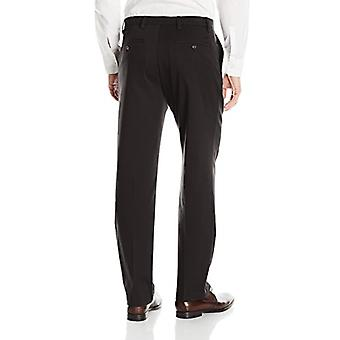 Dockers Men-apos;s Classic Fit Easy Khaki Pantalon D3,, Noir (Stretch), Taille 42W x 32L