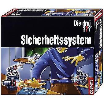 Kosmos 631956 Die drei ??? Sicherheitssystem Kolmen tutkijan tiedepakkaus (sarja) 8 vuotta tai enemmän