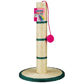 Vitakraft Sisal Scraper With A Plate, Post And A Ball (Cats , Toys , Scratching Posts)