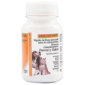 Healthy Pets Ox Liver Hair 60 tablets (Dogs , Supplements)