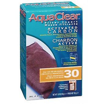 Aquaclear AQUACLEAR 30 CARGA CARGA CARBÓN (Fische , Filter und Pumpen , Filtermaterial)