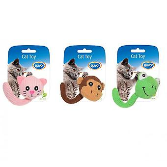 Duvo+ Animals Assortment Toy Cat With Tail 13.5 X 5.5 X 4 cm