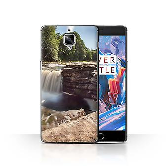 STUFF4 Case/Cover for OnePlus 3/3T/River/Waterfalls