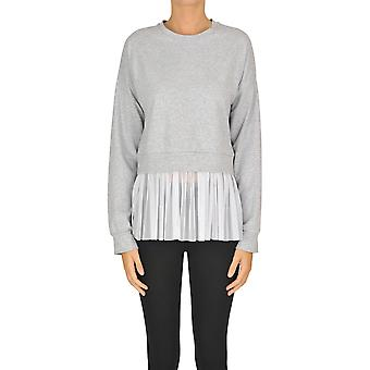 Sweet Matilda Ezgl314022 Women's Grey Cotton Sweatshirt