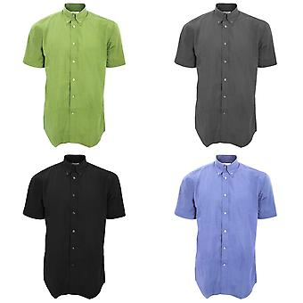 Camisa de manga curta Kit Mens Workforce Kustom / Mens Workwear camisa