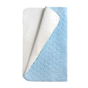 Loft 25 Sábana de almohadilla de incontinencia para la cama ? Ropa de cama de protección de la higiene Material de humedad hipoalergénico y ultra absorbente ? Lavable a máquina ? Hecho en el Reino Unido Azul