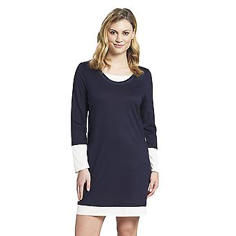 Rösch 1193754-11436 Women's Pure Denim Blue Cotton Nightdress