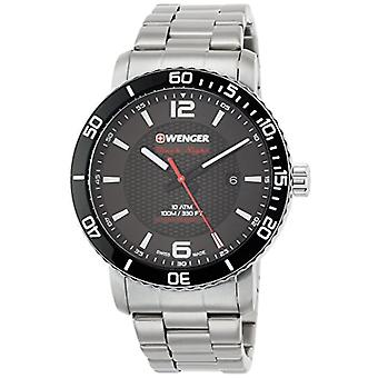 Wenger Unisex Quartz analogue watch with stainless steel band 01.1841.104