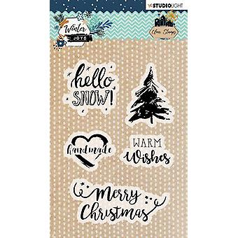 Studio Light Winter Joys Clear Stamps-NR. 418