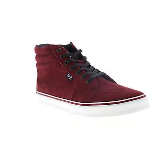 Harley-Davidson Scott Mens Red Suede High Top Lifestyle Sneakers Schuhe