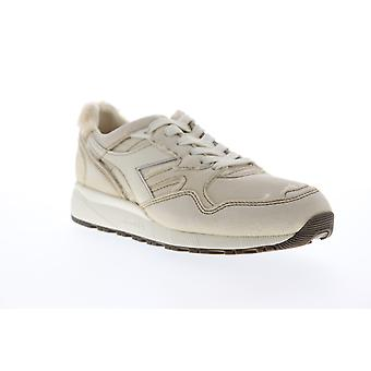 Diadora N9002 Aviator Italy  Mens Beige Tan Low Top Sneakers Shoes