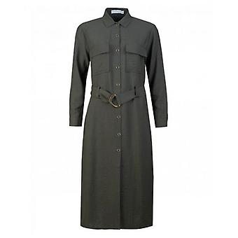Rino & Pelle Belted Utility Dress