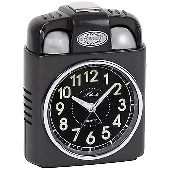 Atlanta 1947/4 alarm clock quartz analog light snooze Bell signal Bell
