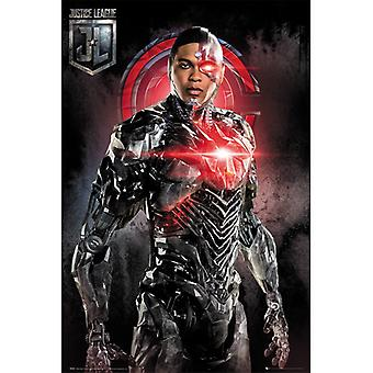OikeusLiigan elokuva Cyborg Solo Maxi Juliste