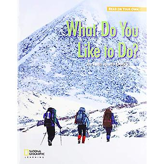 ROYO READERS LEVEL A WHAT DO Y OU LIKE TO DO - 9780357420225 Book