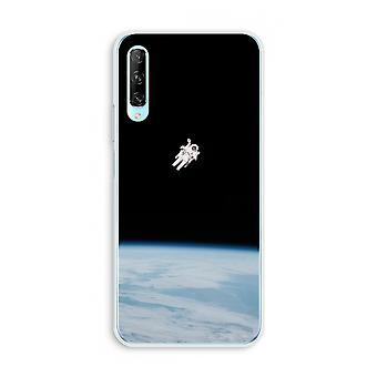 Huawei P Smart Pro Transparent Case (Soft) - Seul dans l'espace