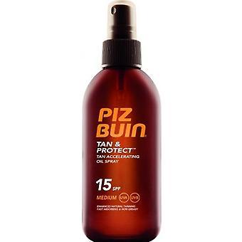 Piz Buin Tan Protect Aceite en Spray Acelerador del bronceado