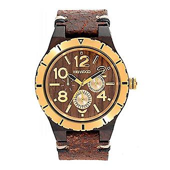 WEWOOD Analog quartz men's watch with leather WW59001