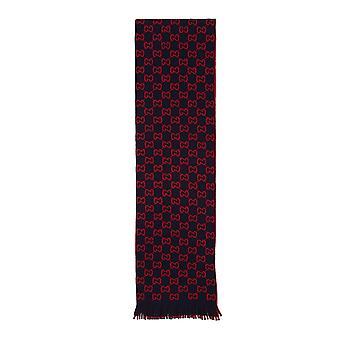 Gucci 6009474g2064074 Uomini's Sciarpa in lana rossa