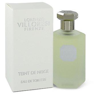 Teint De Neige Eau De Toilette Spray By Lorenzo Villoresi 3.3 oz Eau De Toilette Spray