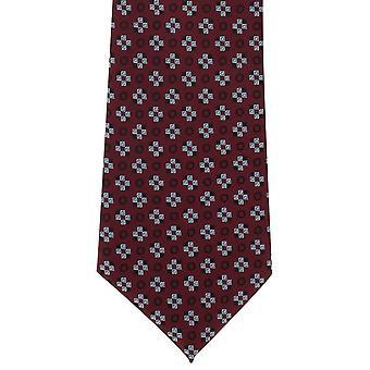 Michelsons Londoner Plätze Motiv Polyester Krawatte - Wein