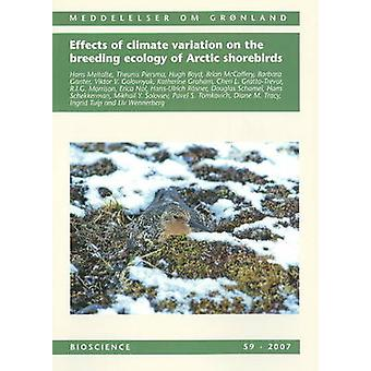 Effets des variations climatiques sur l'écologie de la reproduction de l'Arctique Shoreb