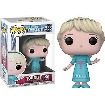 Frozen II Jonge Elsa Pop! Vinyl