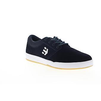 Etnies Score Mens Blue Suede Low Top Lace Up Skate Sneakers Shoes