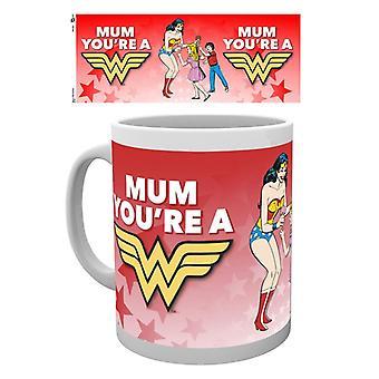 DC Comics Wonder Woman Máma Den matek Hrnek