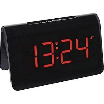 TFA Dostmann 60.2543.05 Radio Alarm clock Black Alarm times 1