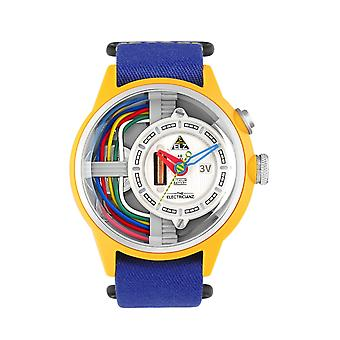 The Electricianz ZZ-A1A-02 The Cable Z Blue Strap Wristwatch