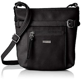 Tom Tailor Acc Juna - Black Women's Shoulder Bags (Schwarz) 26x24x7.5 cm (B x H T)
