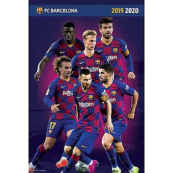 FC Barcelona Players Poster