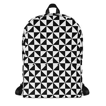 Backpack | b&w triangles