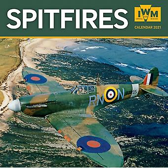 Imperial War Museum  Spitfires Wall Calendar 2021 Art Calendar by Created by Flame Tree Studio