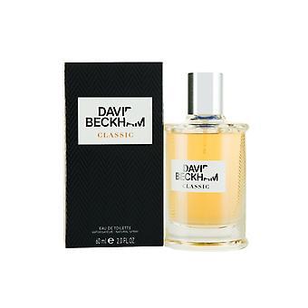 David Beckham Classic Eau de Toilette 60ml Spray Für ihn