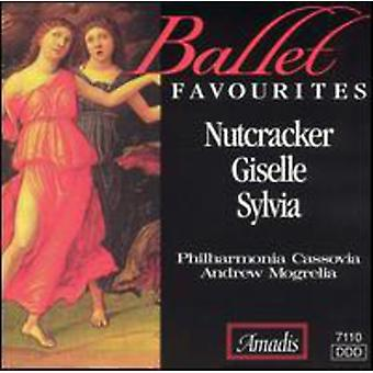 Ballet favorieten - favorieten Ballet: De Notenkraker; Giselle; Sylvia [CD] USA importeren