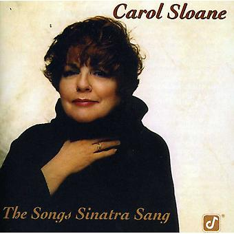 Carol Sloane - Songs Sinatra Sang [CD] USA import