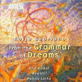 K. Saariaho - Kaija Saariaho: From the Grammar of Dreams [CD] USA import