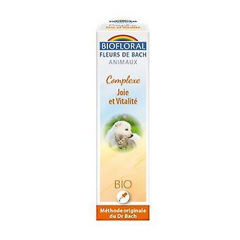 Bach Flowers Animal Complex Joy and Vitality Bio 20 ml of floral elixir