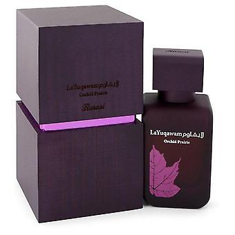 Rasasi la yuqawam orchid prairie eau de parfum spray by rasasi 543438 75 ml